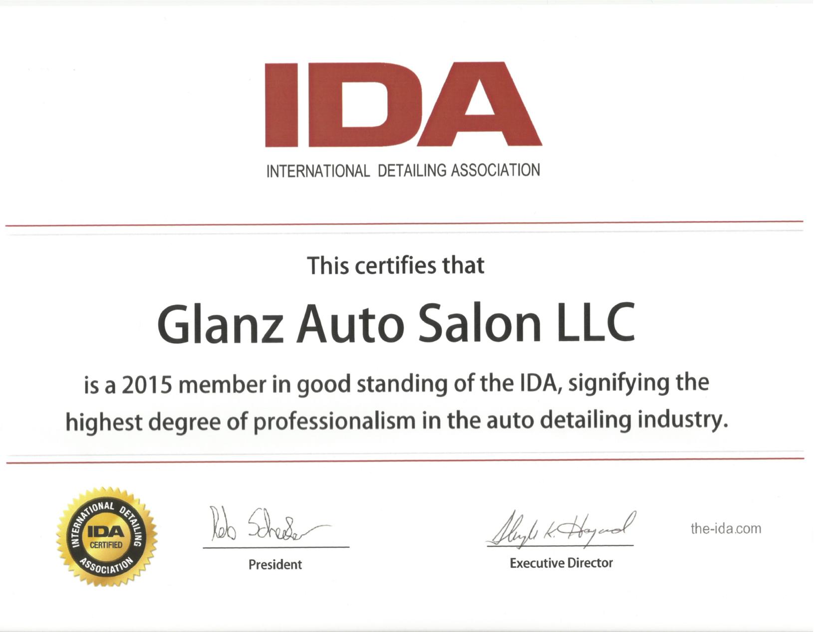 About Glanz Auto Salon Mobile Auto Detailing Car Wash